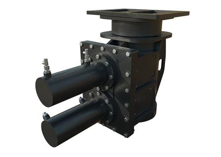 Зажим гидравлический для трубы /бревна ⌀325-430